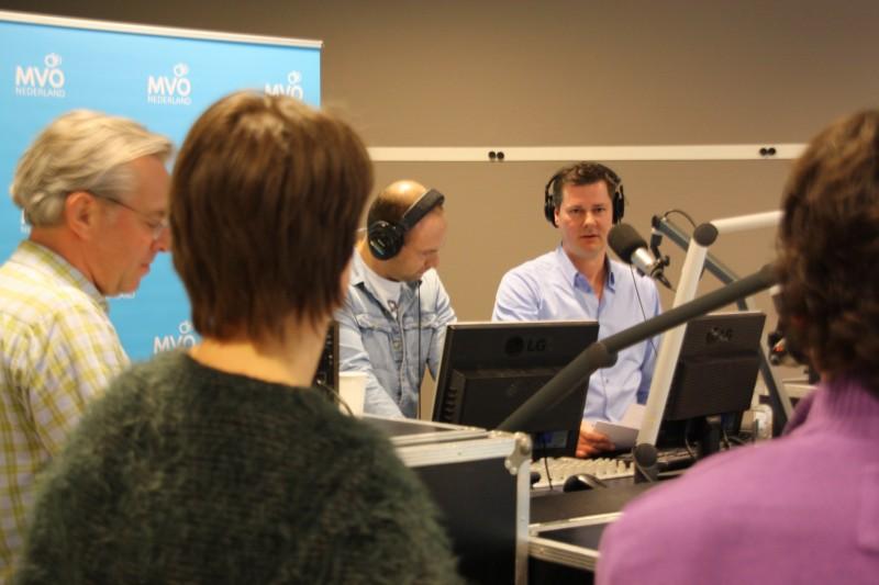 35 professionals maken samen radioprogramma over Duurzame Inzetbaarheid