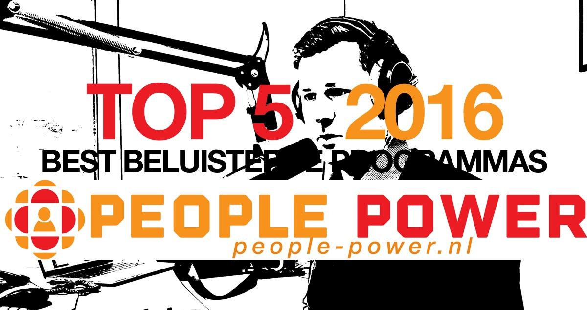 Top 5 Best beluisterde programma's 2016