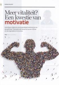 Meer vitaliteit - een kwestie van motivatie - PWdeGids juni 2015